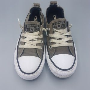 Converse Slip on canvas tennis shoe